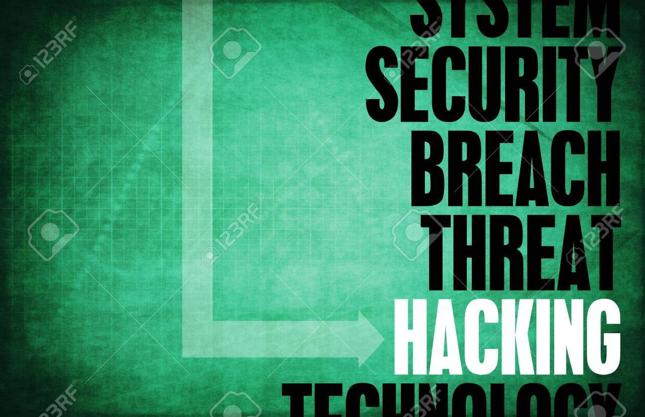 Hacking Computer Security Threat and Protection Standard-Bild - 40338498