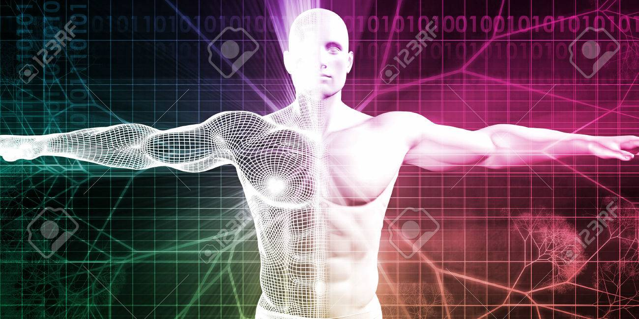 Medical Testing and Body Checkup of a Human Male Standard-Bild - 51100083