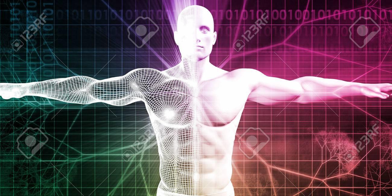 Medizinische Tests und Körper Checkup eines menschlichen Mannes Standard-Bild - 51100083
