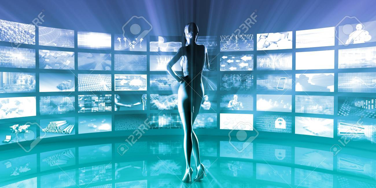 Healthcare Technology and Monitoring Medical As Art Stock Photo - 52078911