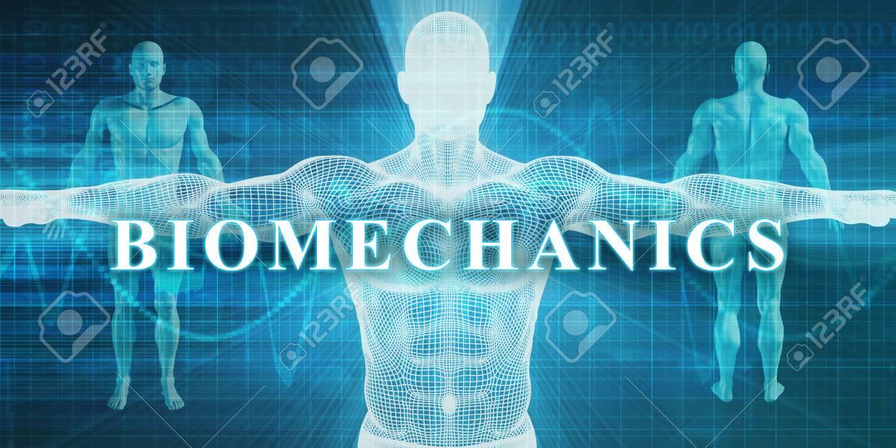 Biomechanics as a Medical Specialty Field or Department Standard-Bild - 52705814