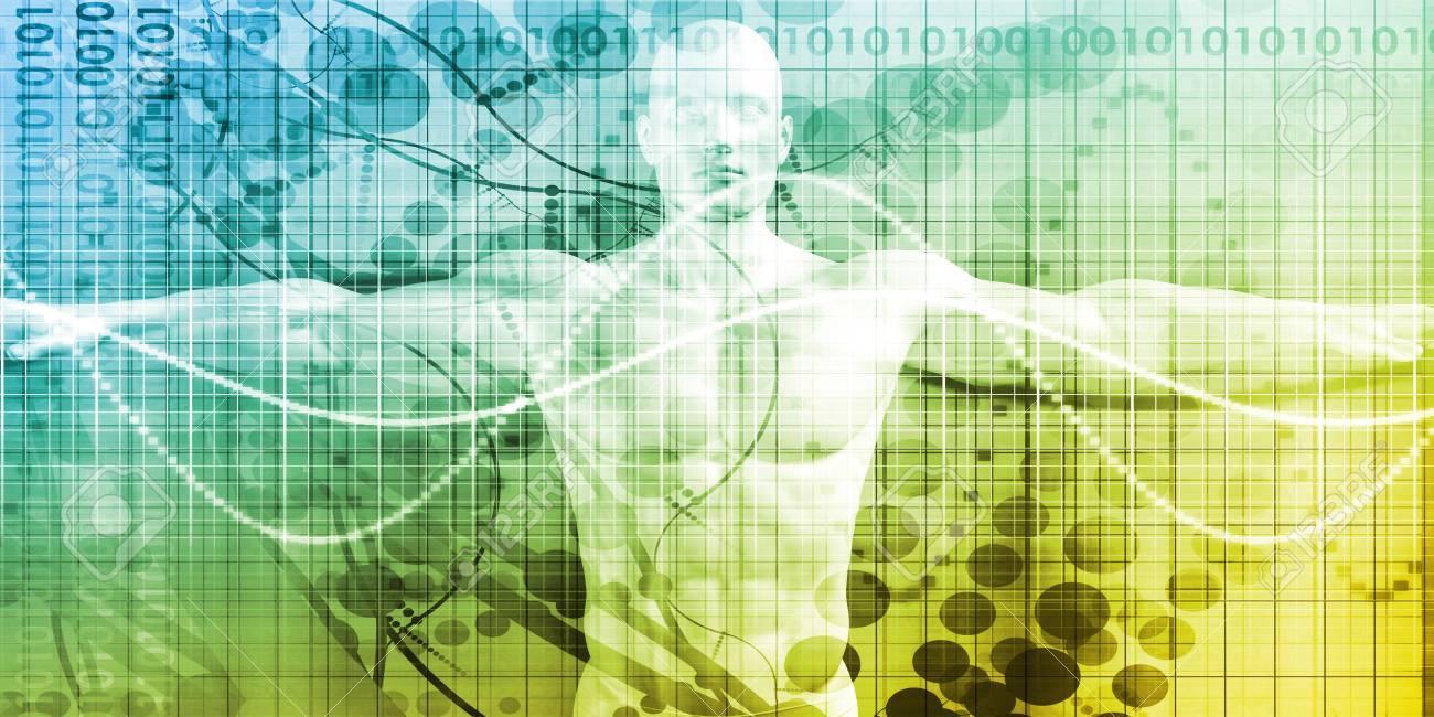 Tecnología De La Ciencia Con La Anatomía Del Cuerpo Humano ...