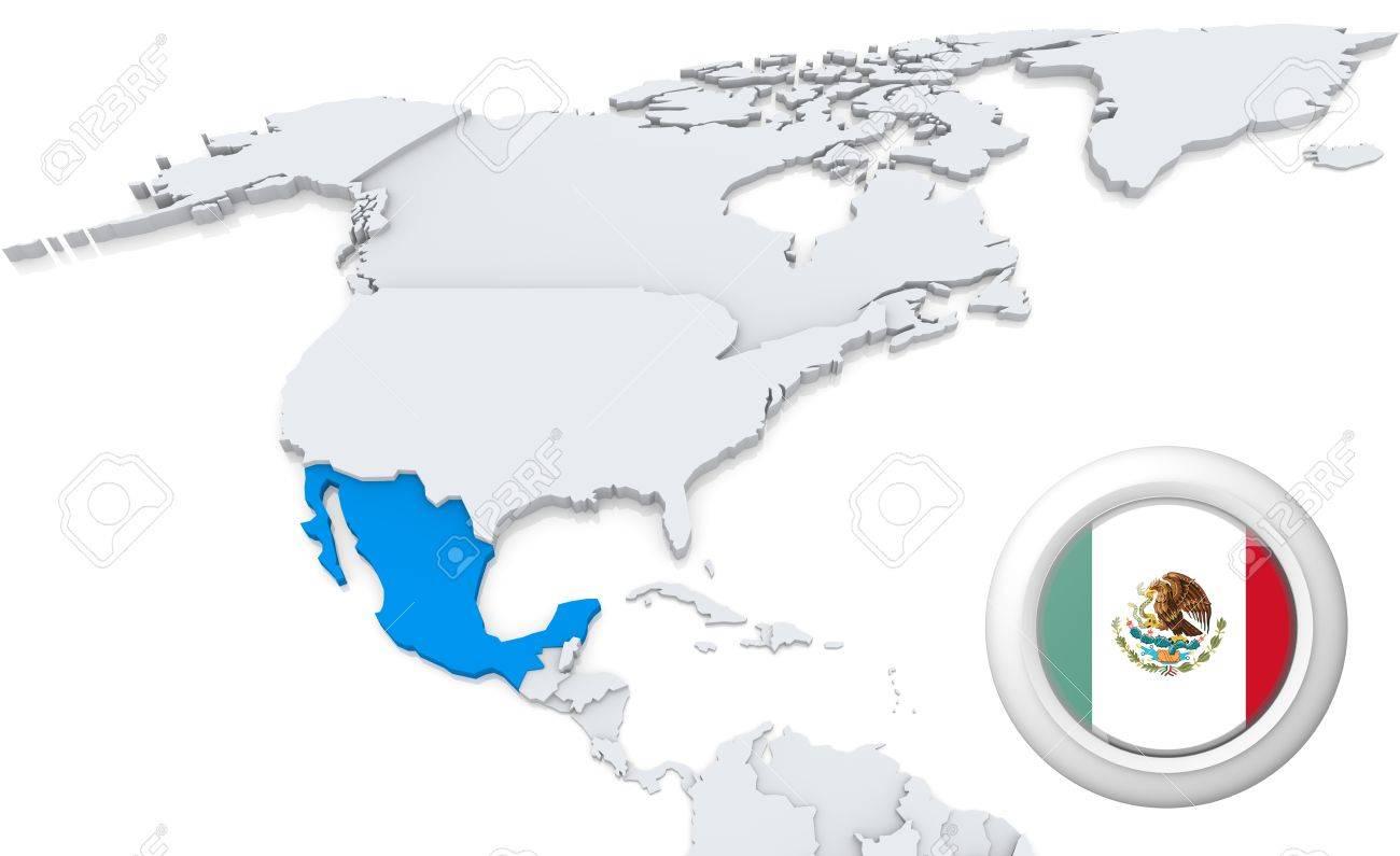 Mexico America Map Mexico Map - North america map mexico
