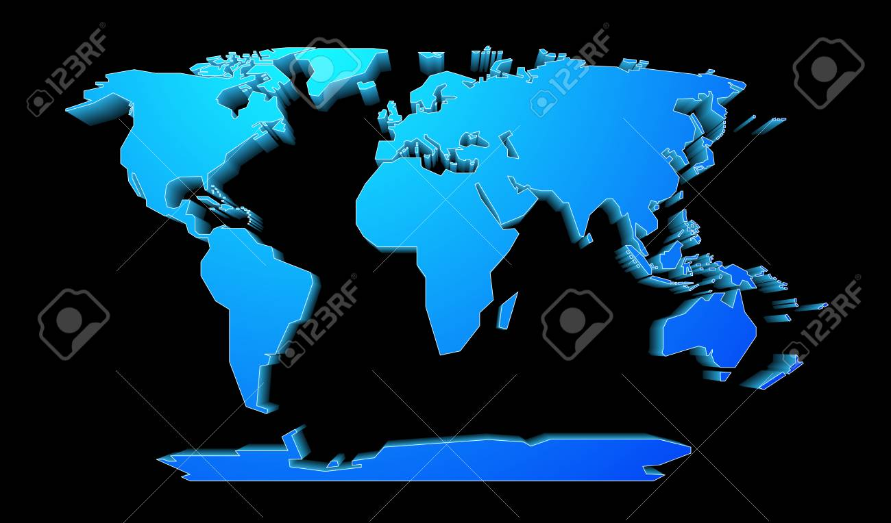 Shape of world map with perspective effect royalty free cliparts shape of world map with perspective effect stock vector 69340761 gumiabroncs Images