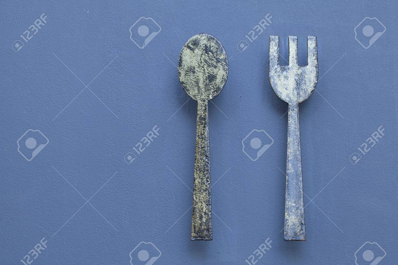 Fork and spoon Stock Photo - 18836501