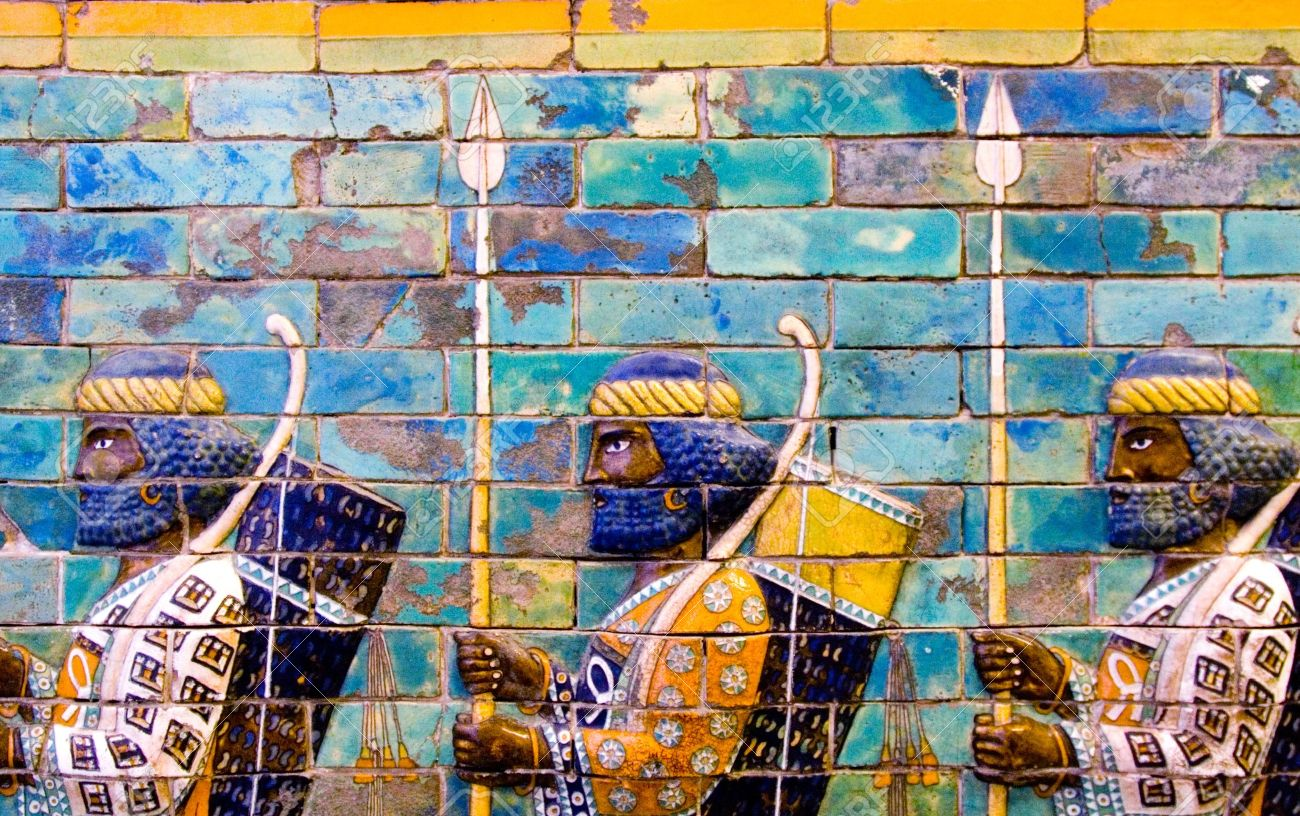 The Ishtar Gate and the Processional Way, Babylon,The Pergamon Museum - 11844258