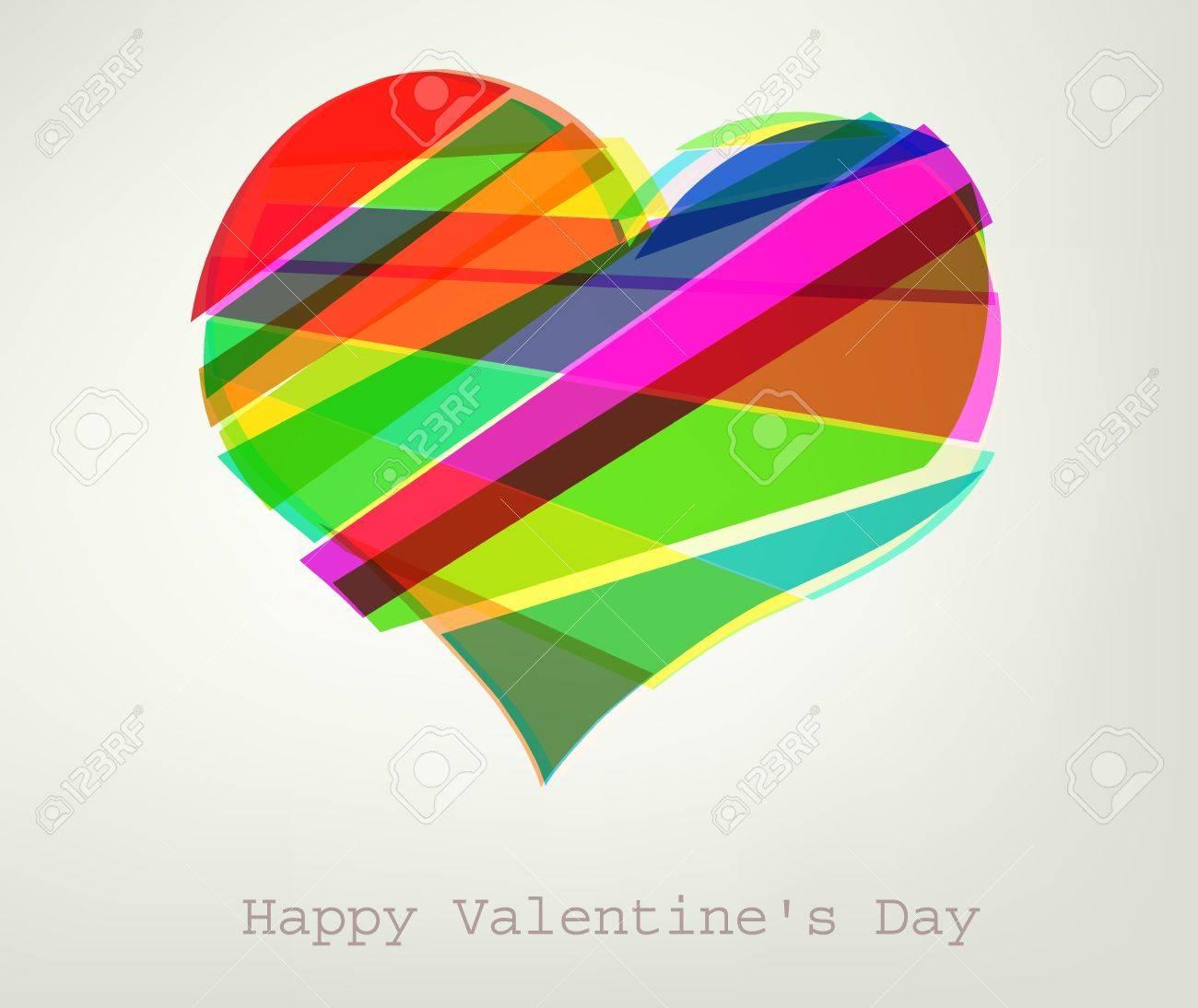 Heart Vector Illustration. Valentine - 11909478