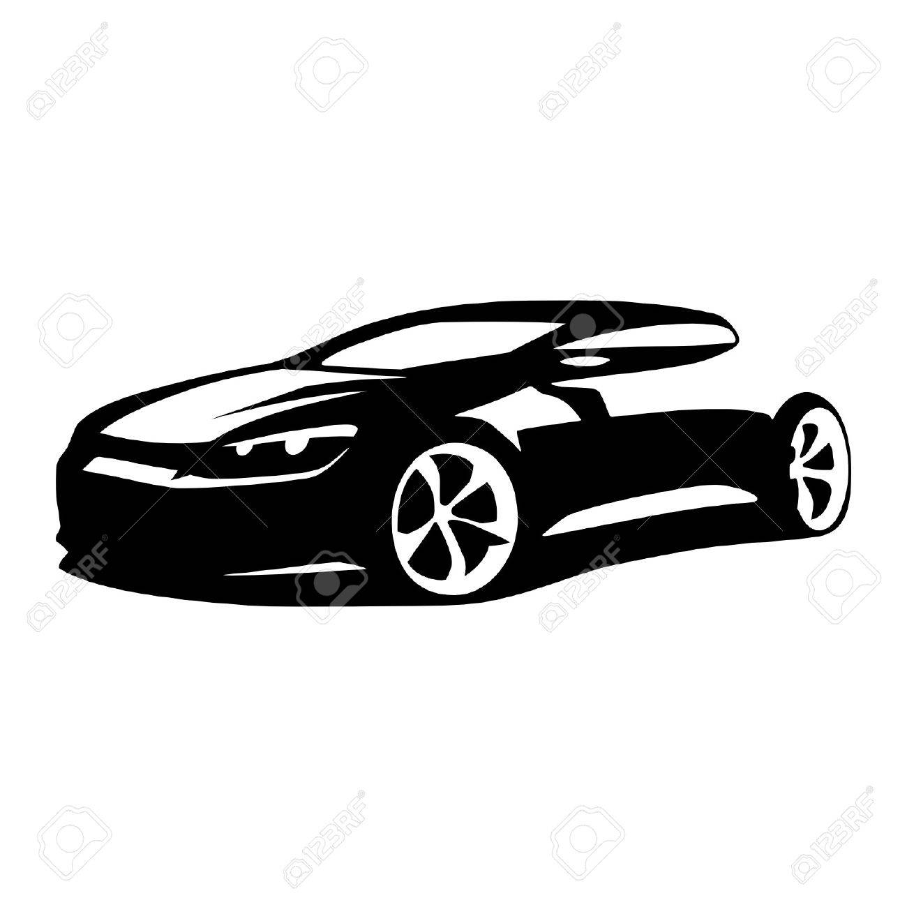 car silhouette vector royalty free cliparts vectors and stock rh 123rf com old car silhouette vector f1 car silhouette vector