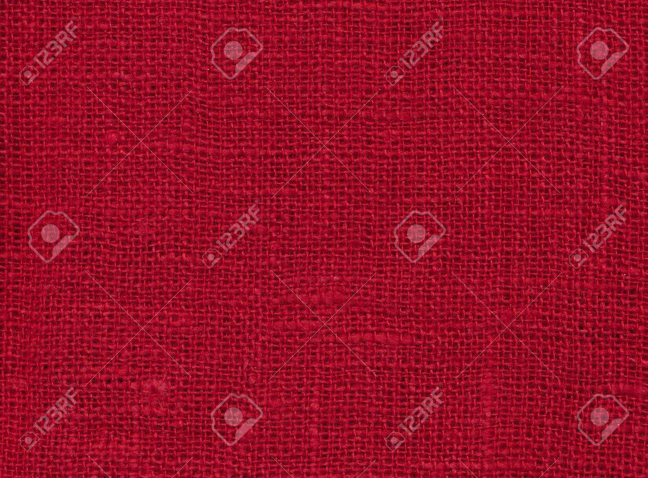 Background - red woven fabric Stock Photo - 13213115