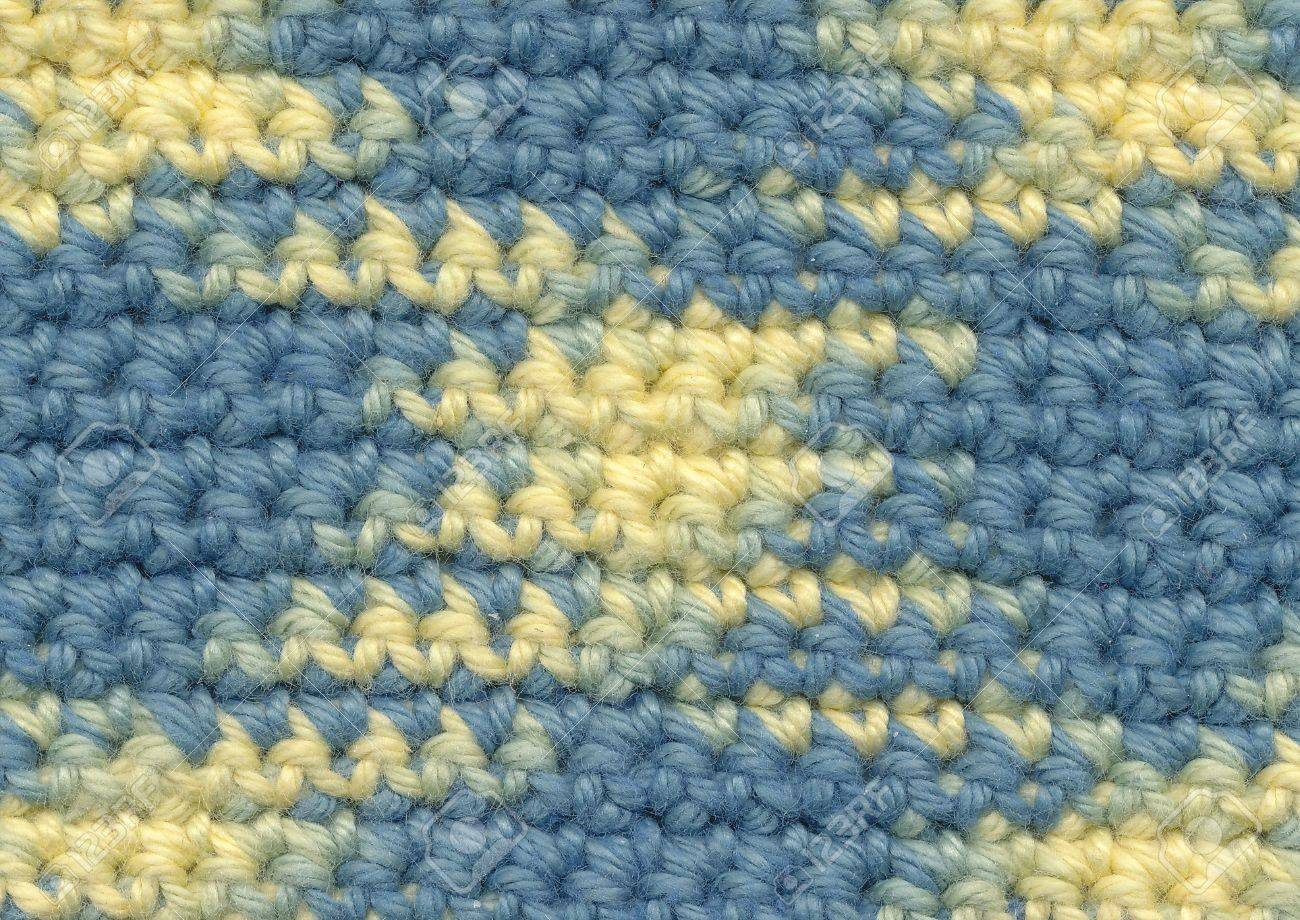 Background Crochet Variegated Yarn Stock Photo Picture And