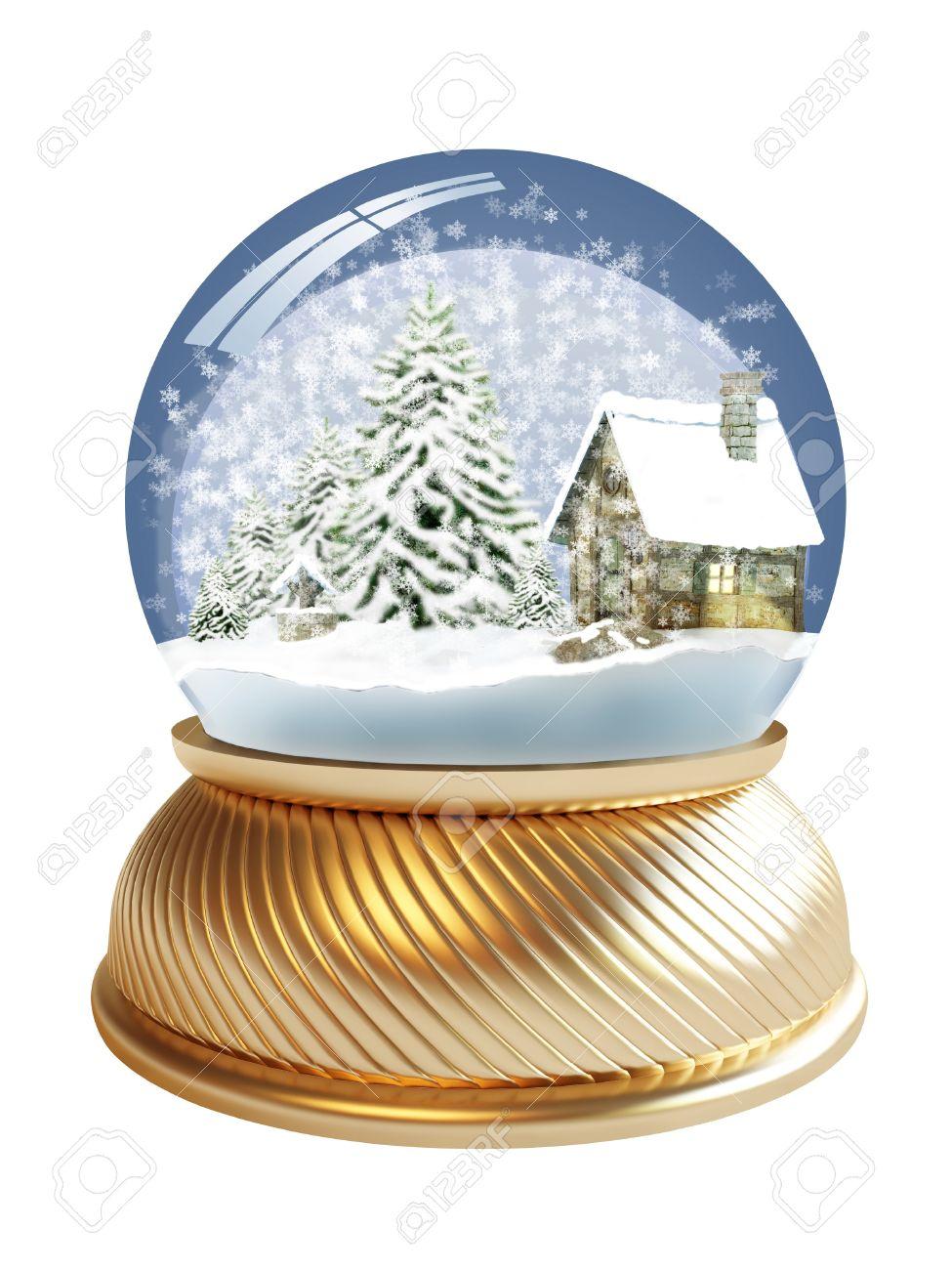 Snowglobe V2 3D Model OBJ 3DS FBX C4D | CGTrader.com