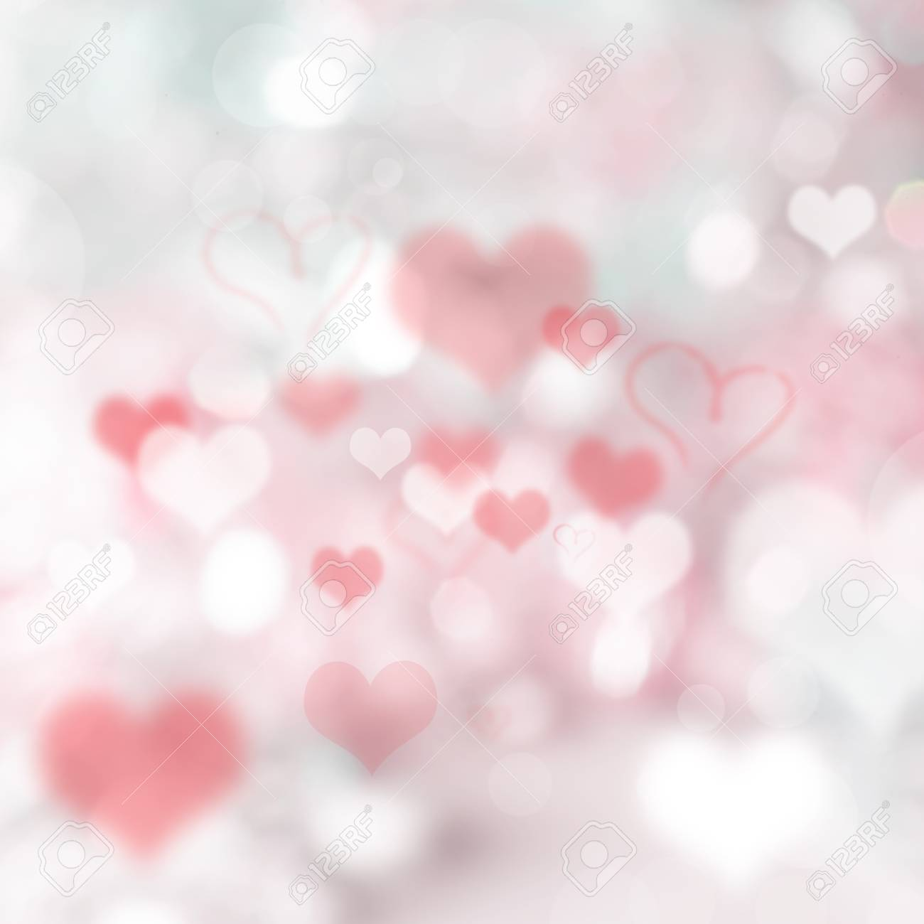Valentine Gift Abstract Background Wallpaper Stock Photo Picture