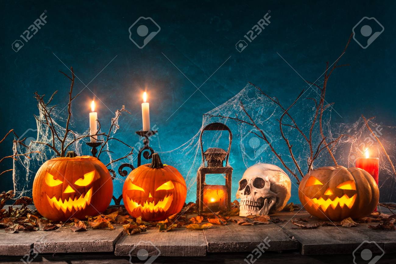 spooky halloween background stock photo 87836948 - Spooky Halloween Pictures Free