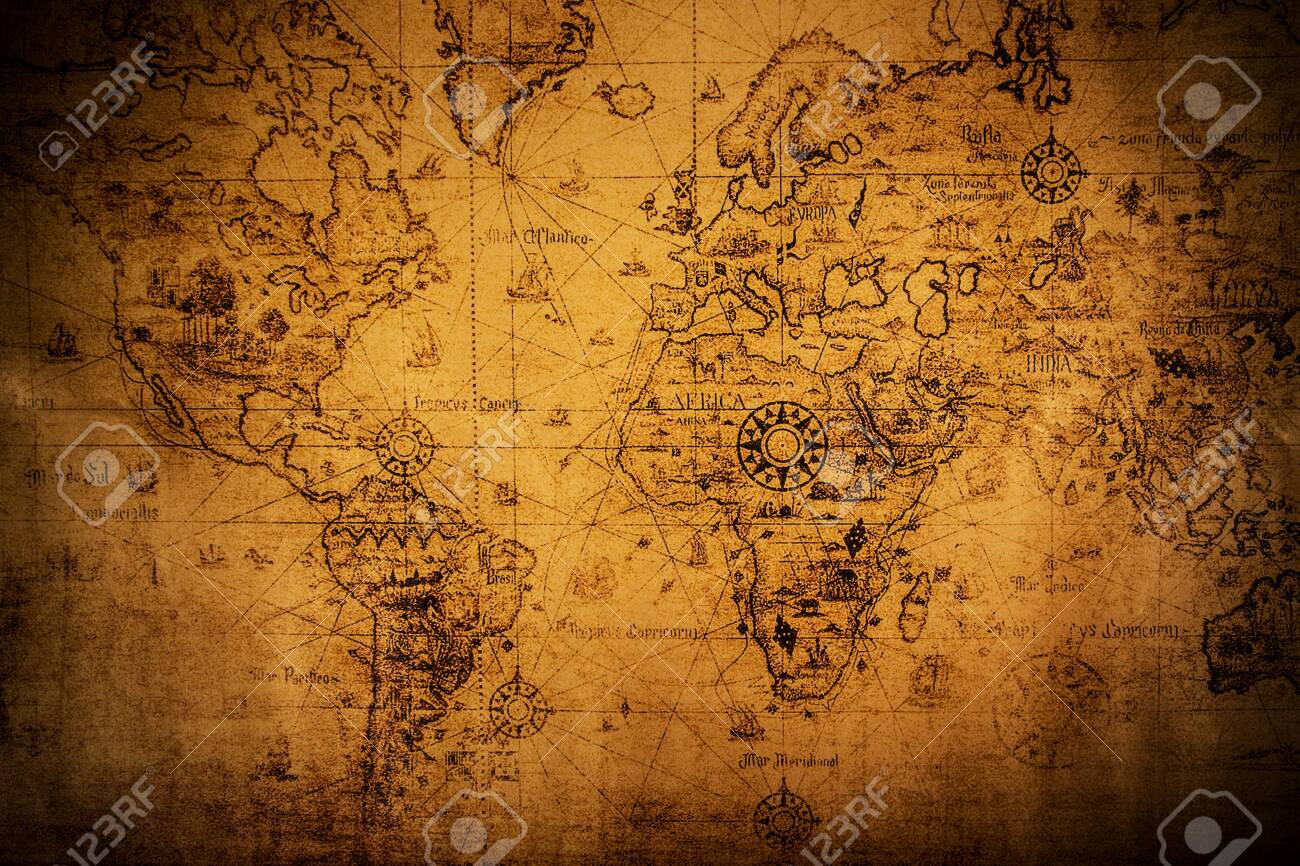 Top view of accessories for travel on vintage wooden background. - 148793610