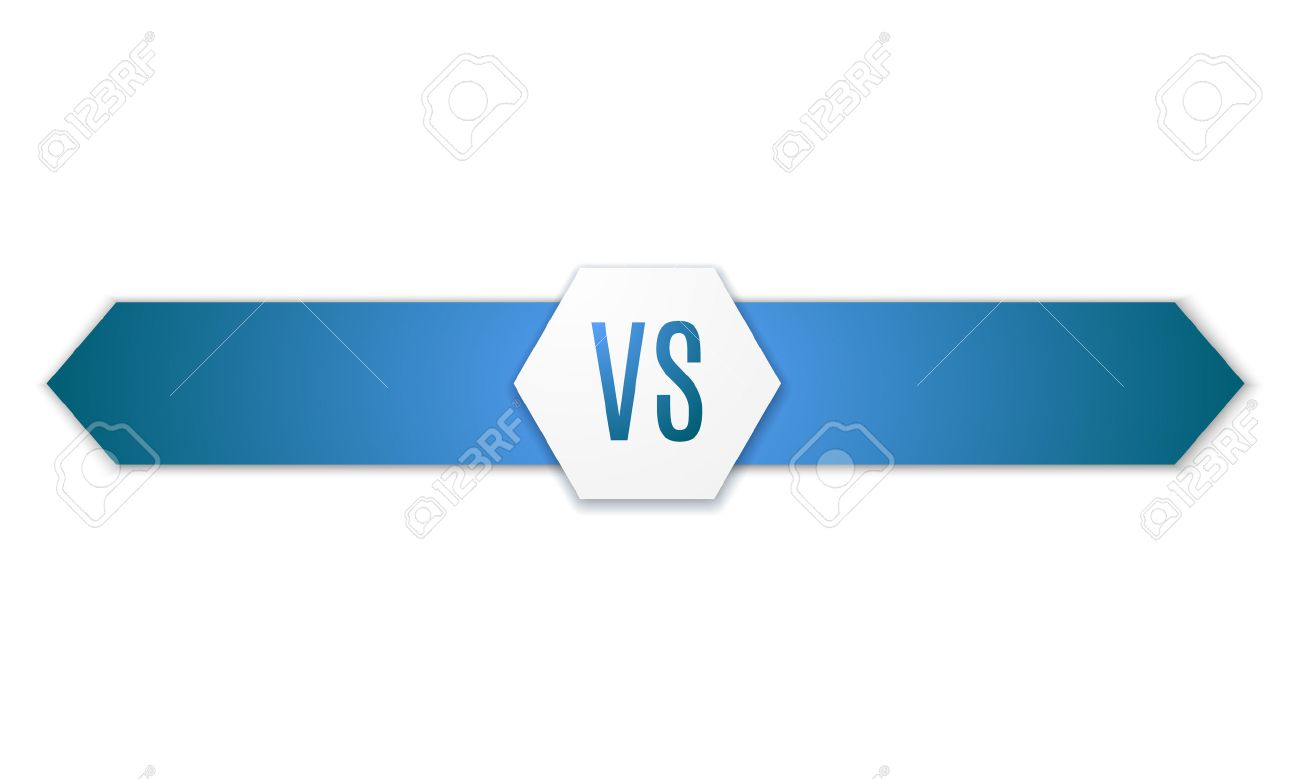 Background image vs background - Versus Logo Vs Vector Letters Illustration Isolated On White Background Stock Vector 49362353