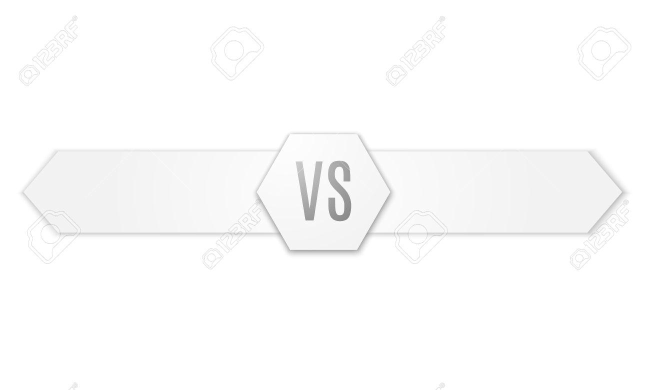 Background image vs background - Versus Logo Vs Vector Letters Illustration Isolated On White Background Stock Vector 49362352