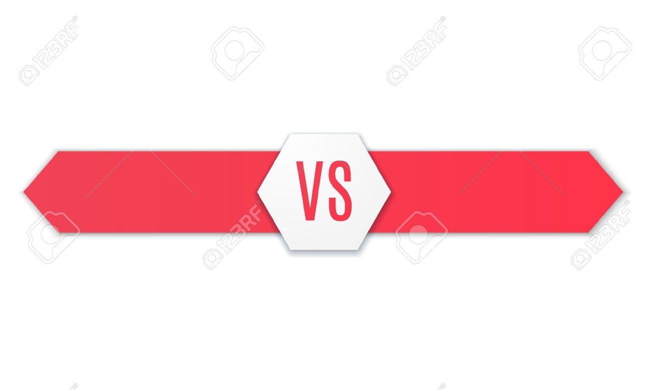 Versus icon. VS Vector Letters Illustration. Competition Icon. Fight Symbol. Vector - 55754215