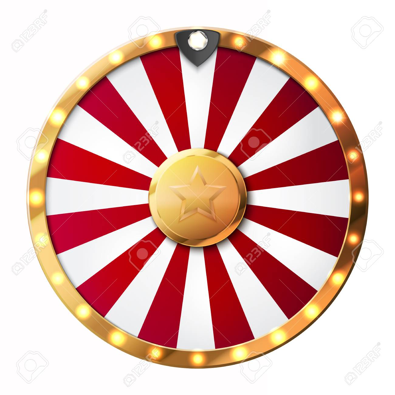 Colorful wheel of luck or fortune infographic. Vector - 88362651