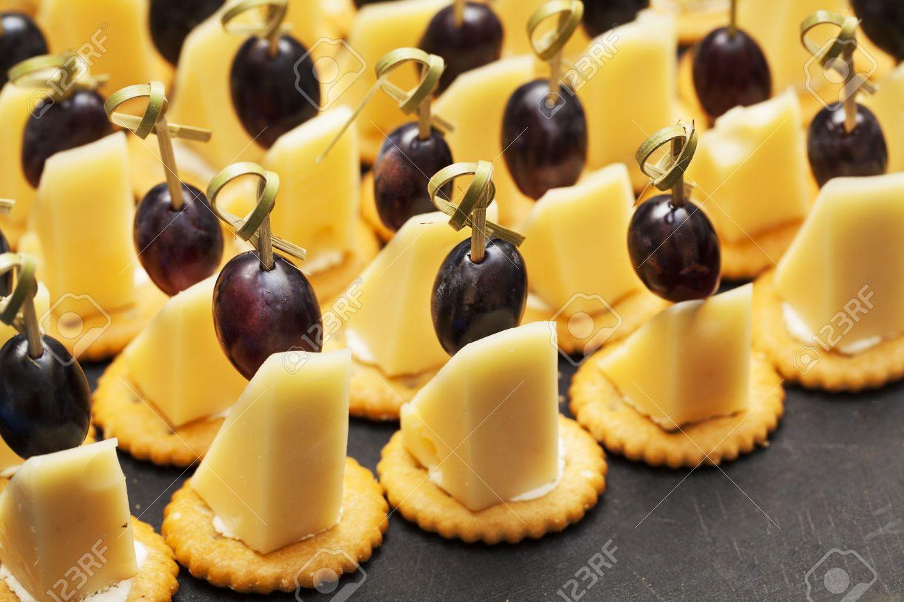 Spieße trauben käse Full text