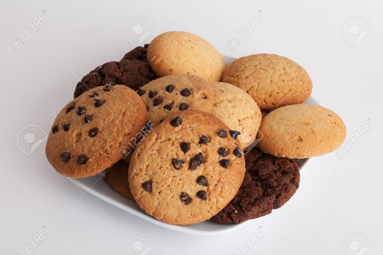 Image result for plate with different cookies