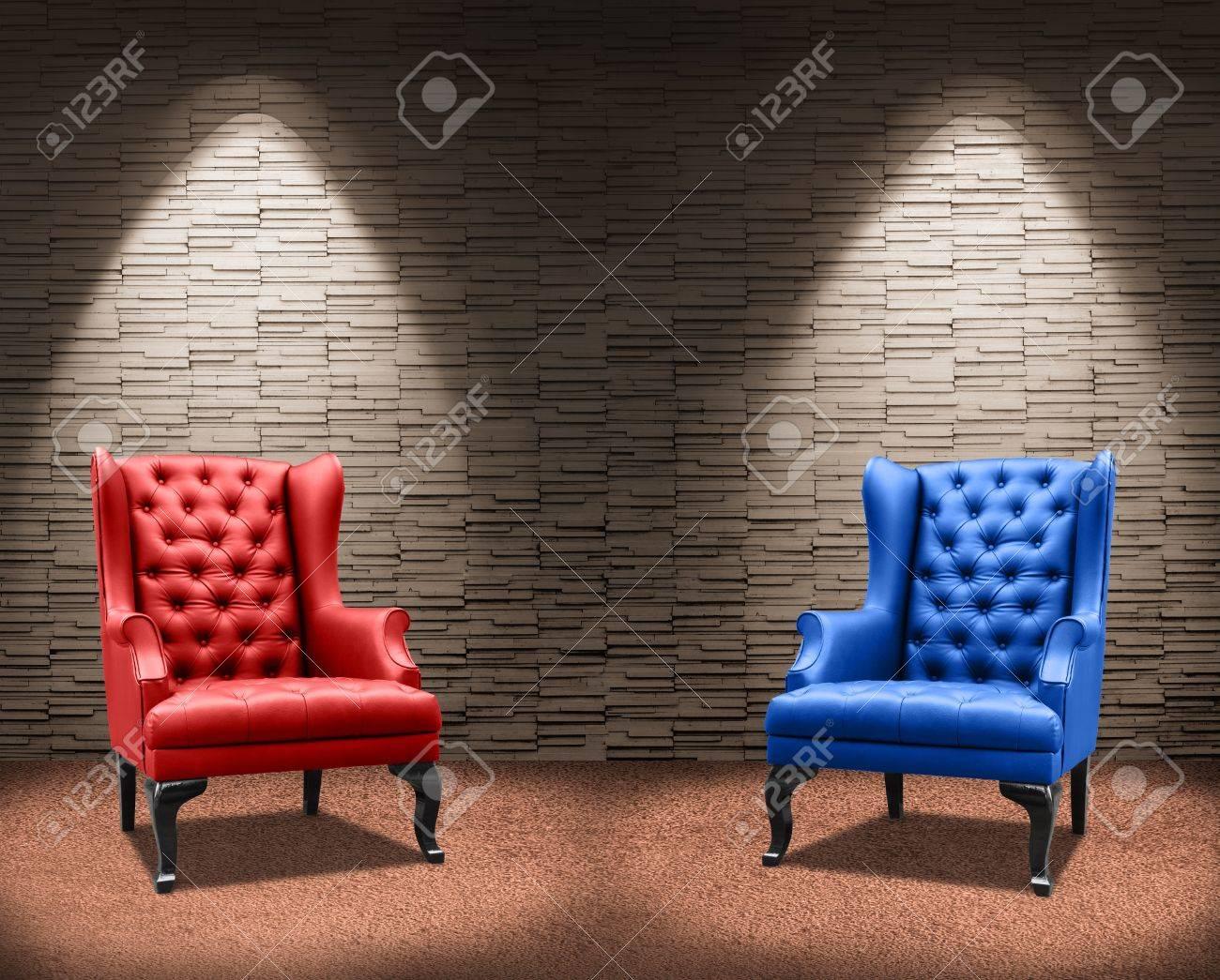 two fighter armchair Standard-Bild - 18399413