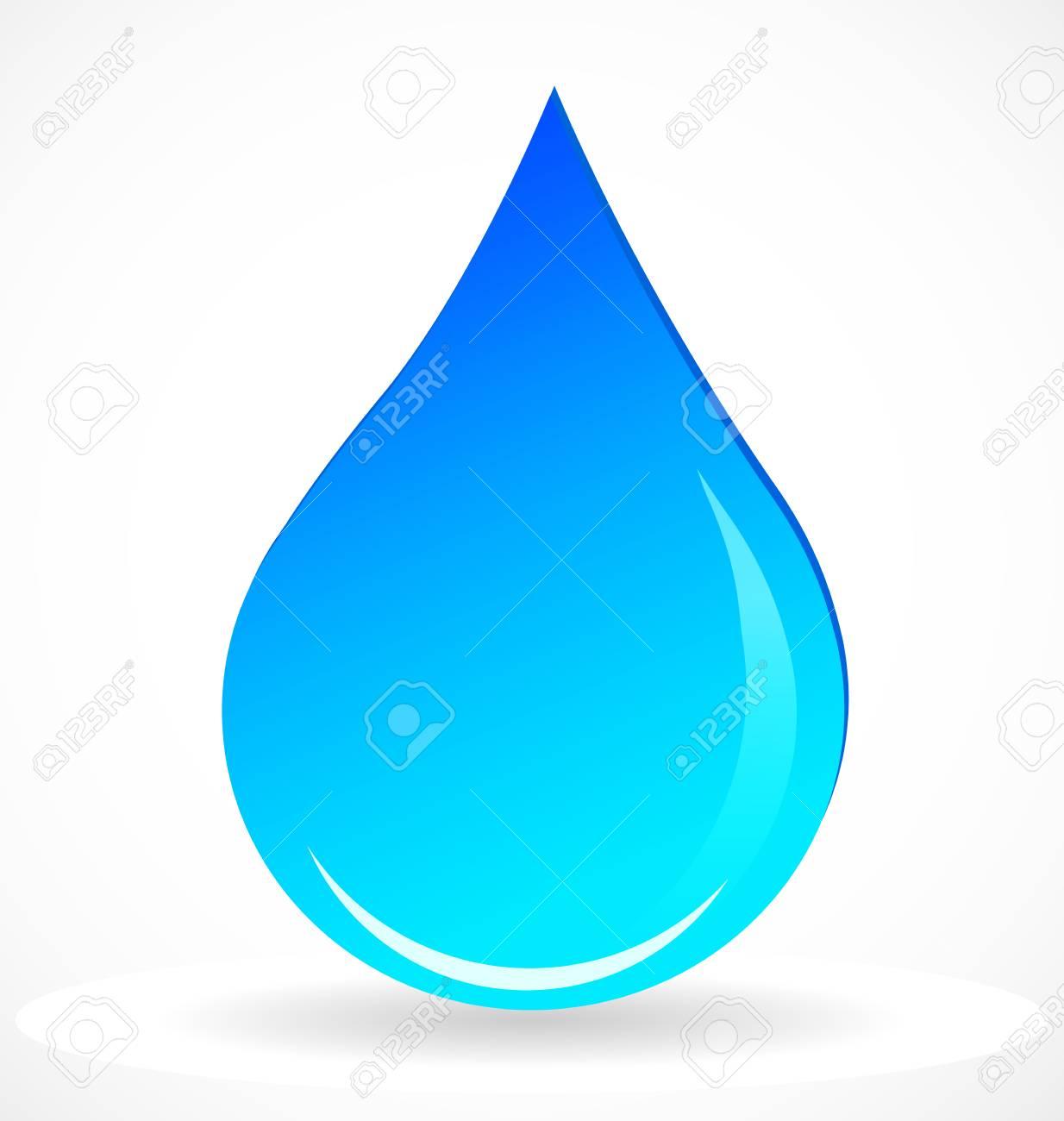 water rain drop vector icon royalty free cliparts vectors and rh 123rf com free vector raindrop raindrop vector template