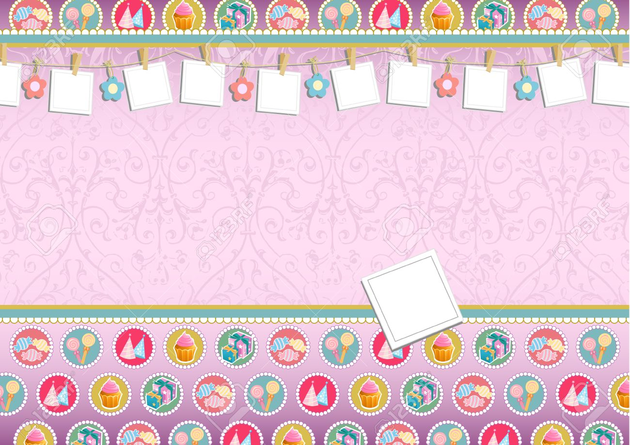Birthday Invitation Can Be Used For Other Invitation Layout Royalty