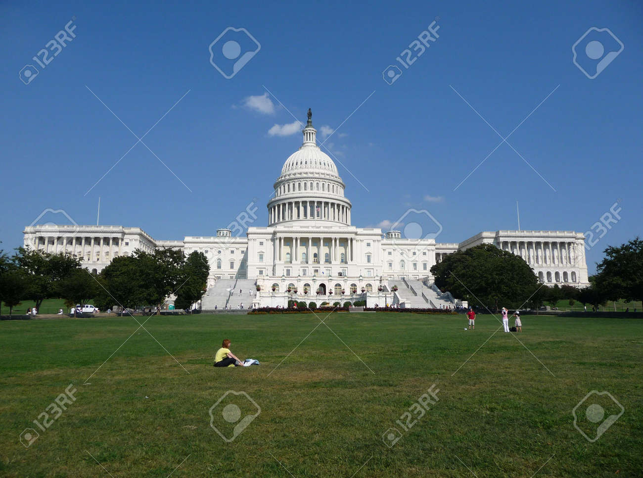 Capitol Building in Washington D.C. Stock Photo - 3552689