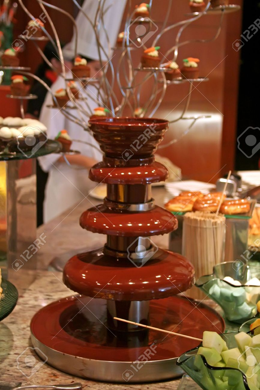 Chocolate Fountains Stock Photos & Pictures. Royalty Free ...