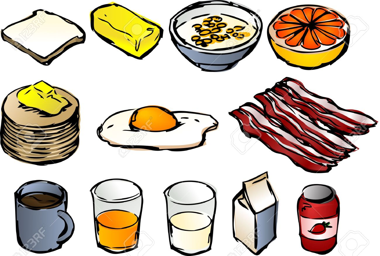 breakfast clipart illustrations vector 3d isometric style stock rh 123rf com breakfast clipart for free breakfast clipart free