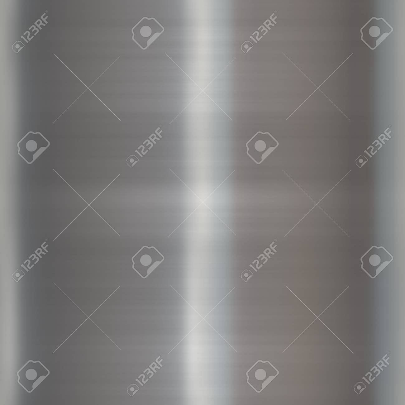 Brushed smooth glossy metal surface texture background illustration Stock Illustration - 3271946