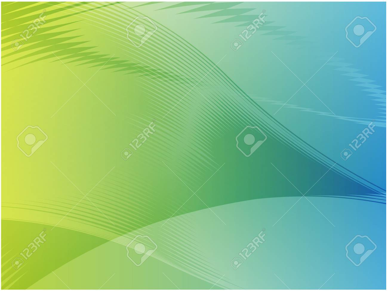 Abstract wallpaper illustration of wavy flowing energy and colors Stock Photo - 3445849