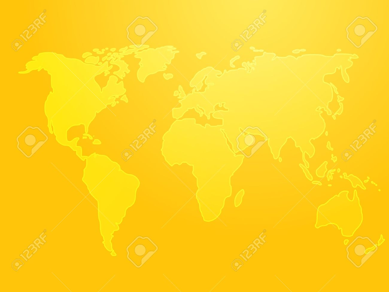Map of the world illustration simple outline on gradient color illustration map of the world illustration simple outline on gradient color gumiabroncs Gallery
