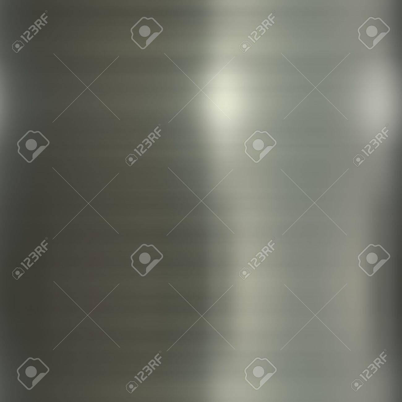 Brushed smooth glossy metal surface texture background illustration Stock Illustration - 3480733