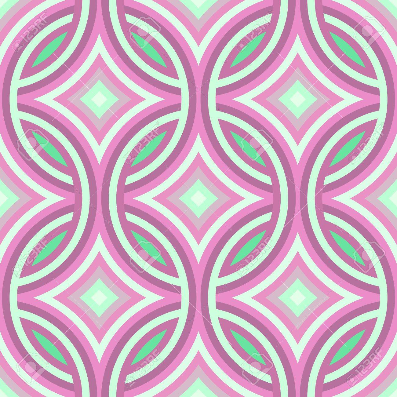 Colorful abstract retro patterns geometric design wallpaper background Stock Photo - 3730829