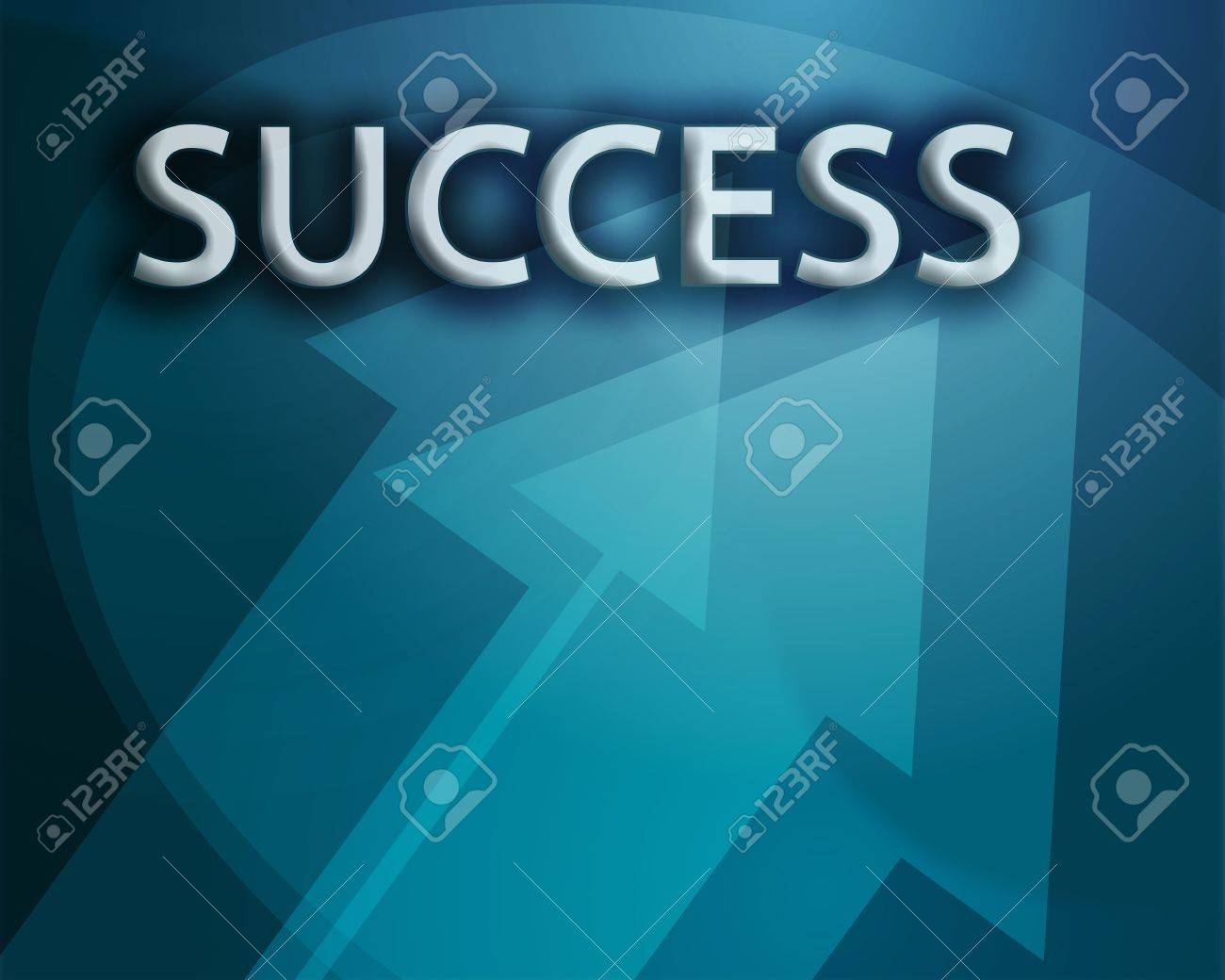 Success illustration, abstract management strategy concept clipart Stock Photo - 3742548