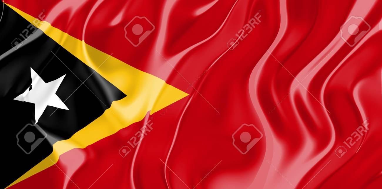 国立国、東ティモールの国旗シン...