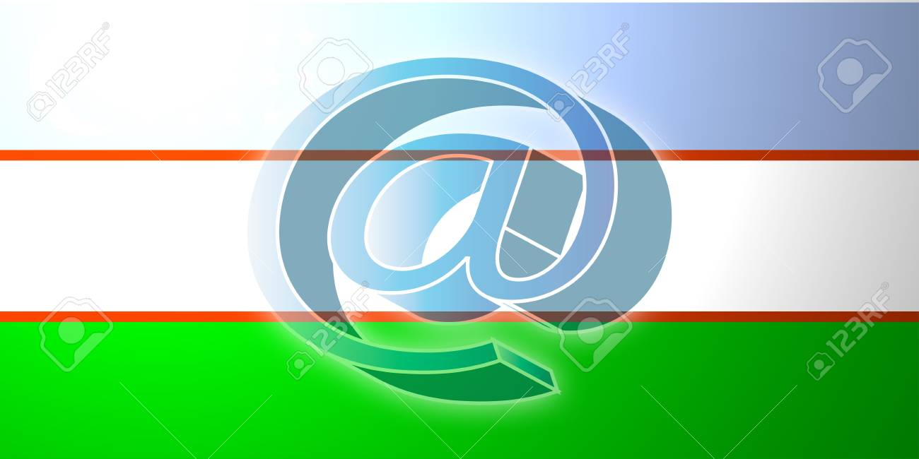 ウズベキスタンの旗、国立国シン...