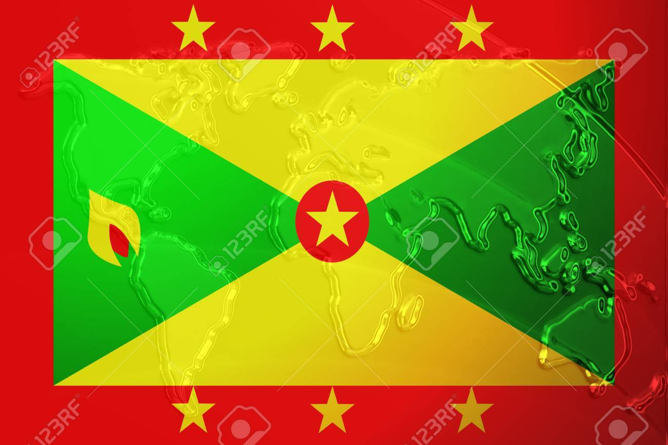 Picture of: Flag Of Grenada National Country Symbol Illustration With World Stock Photo Picture And Royalty Free Image Image 4620551
