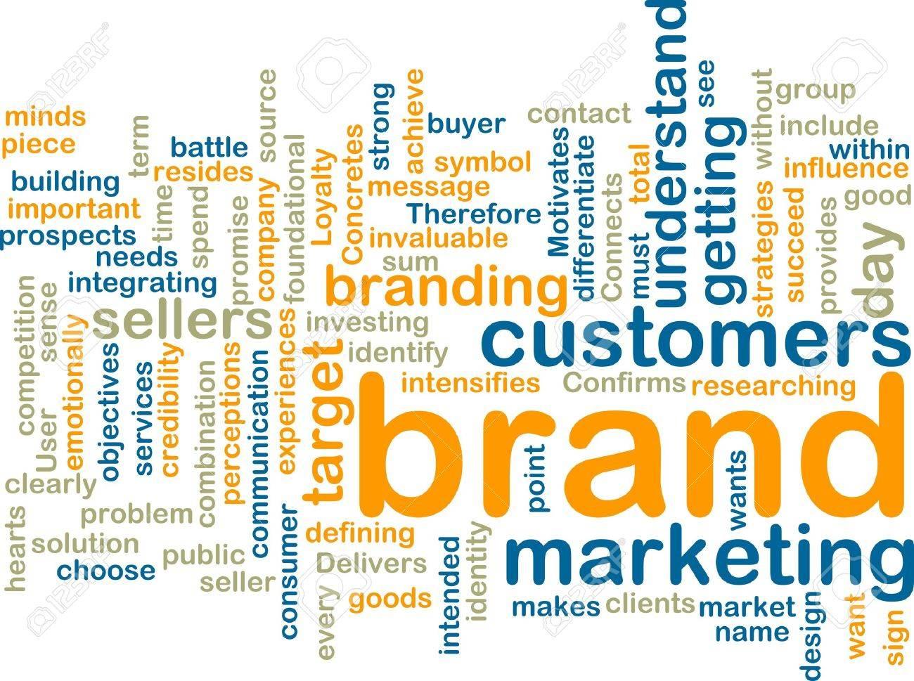 standard bild word wolke tags konzept beispiel fr brand marketing ...