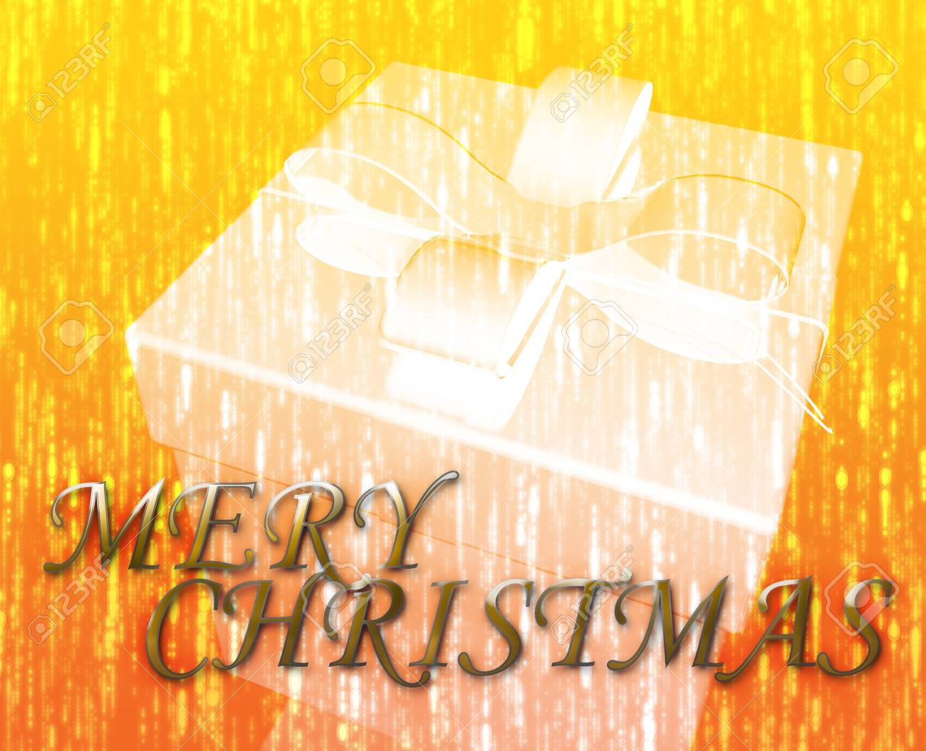 Merry Christmas festive special occasion celebration abstract illustration Stock Illustration - 5158545
