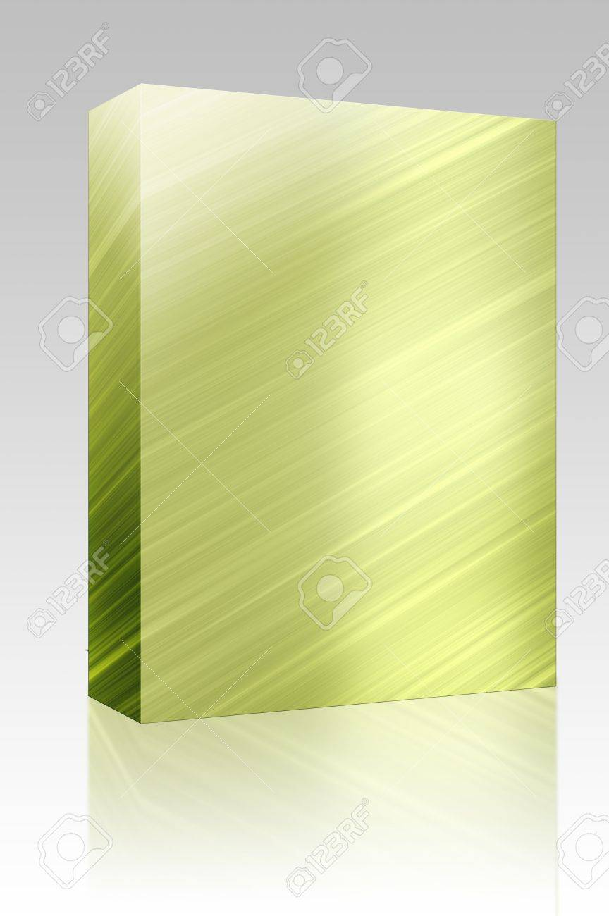 Software package box Brushed glossy metal surface, scratched texture background Stock Photo - 5392787