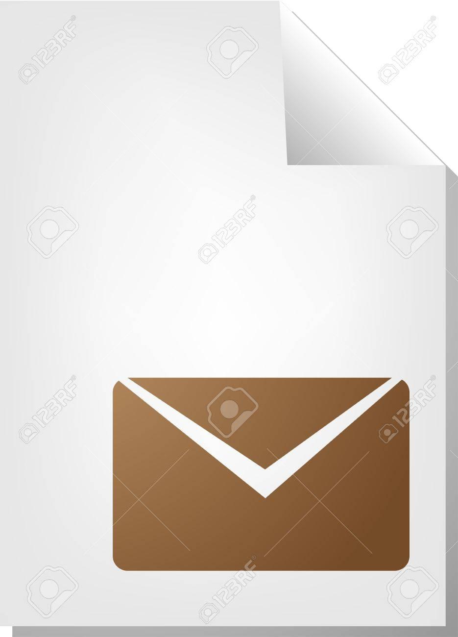 Letter Envelope Document File Type Illustration Clipart Stock Photo