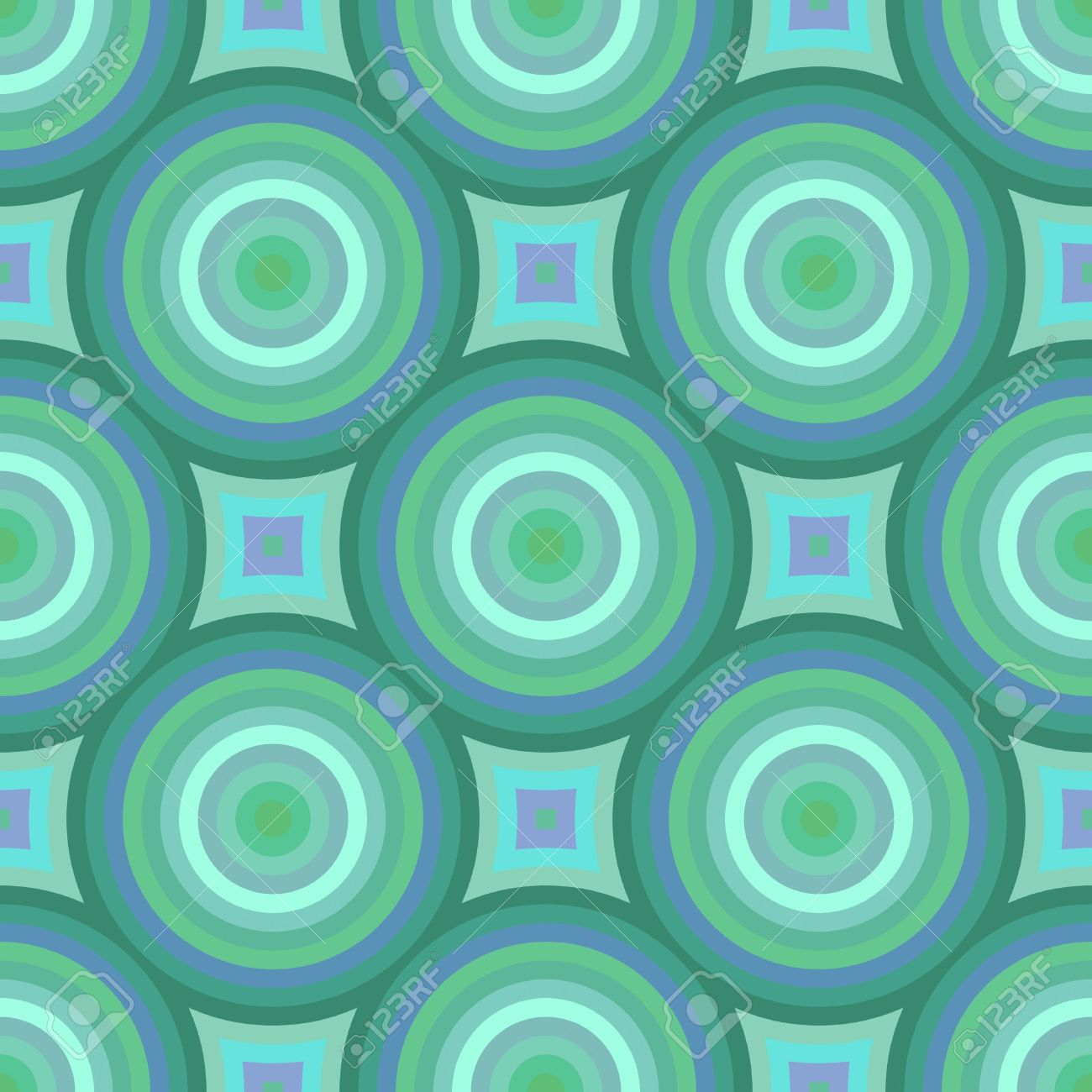 Colorful retro patterns geometric design vintage wallpaper seamless background Stock Photo - 6164340