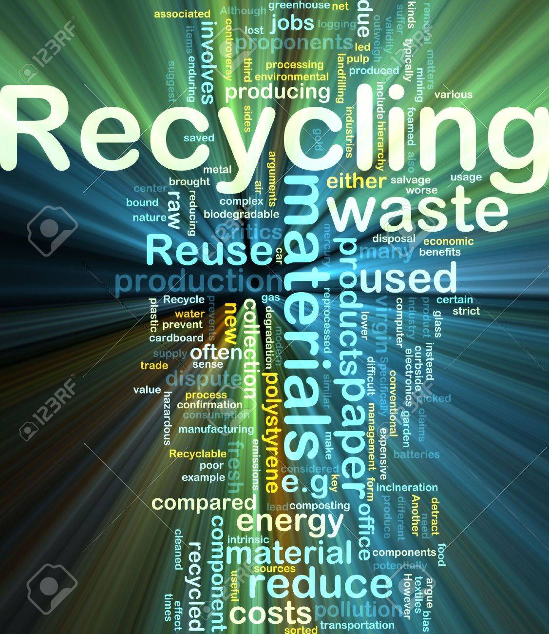 E waste background images - Electronic Waste Background Concept Illustration Of Recycling Waste Materials Glowing Light Effect