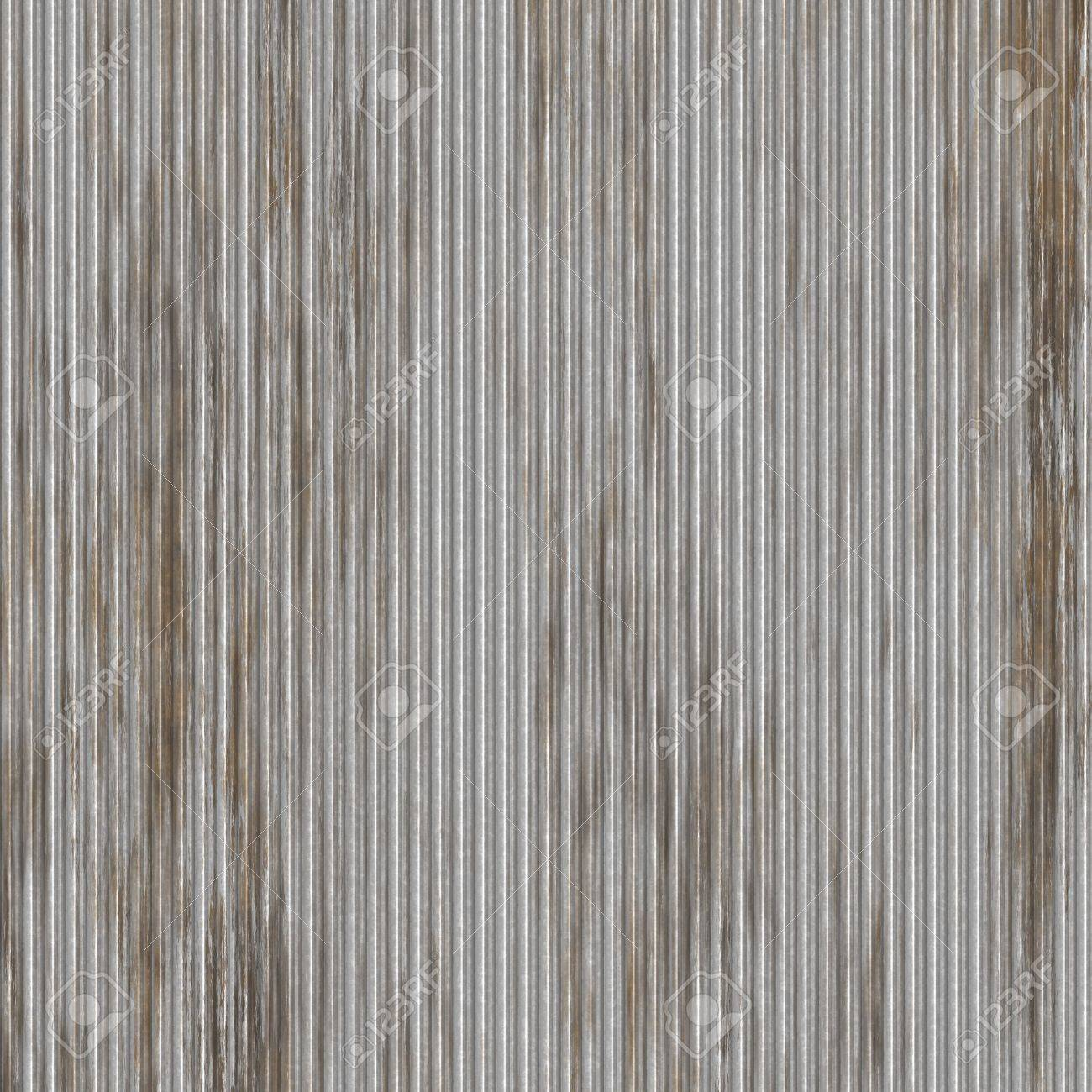 Corrugated metal ridged surface with corrosion seamless texture Stock Photo  6233515  Corrugated Metal Ridged Surface. Corrugated Metal Seamless Texture