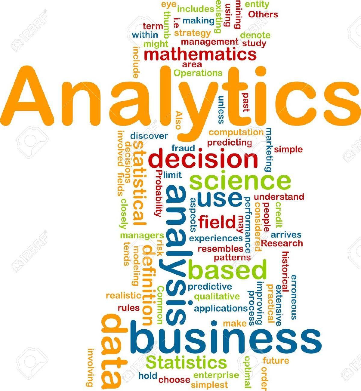 Background concept illustration of analytics business analysis Stock Illustration - 6233473