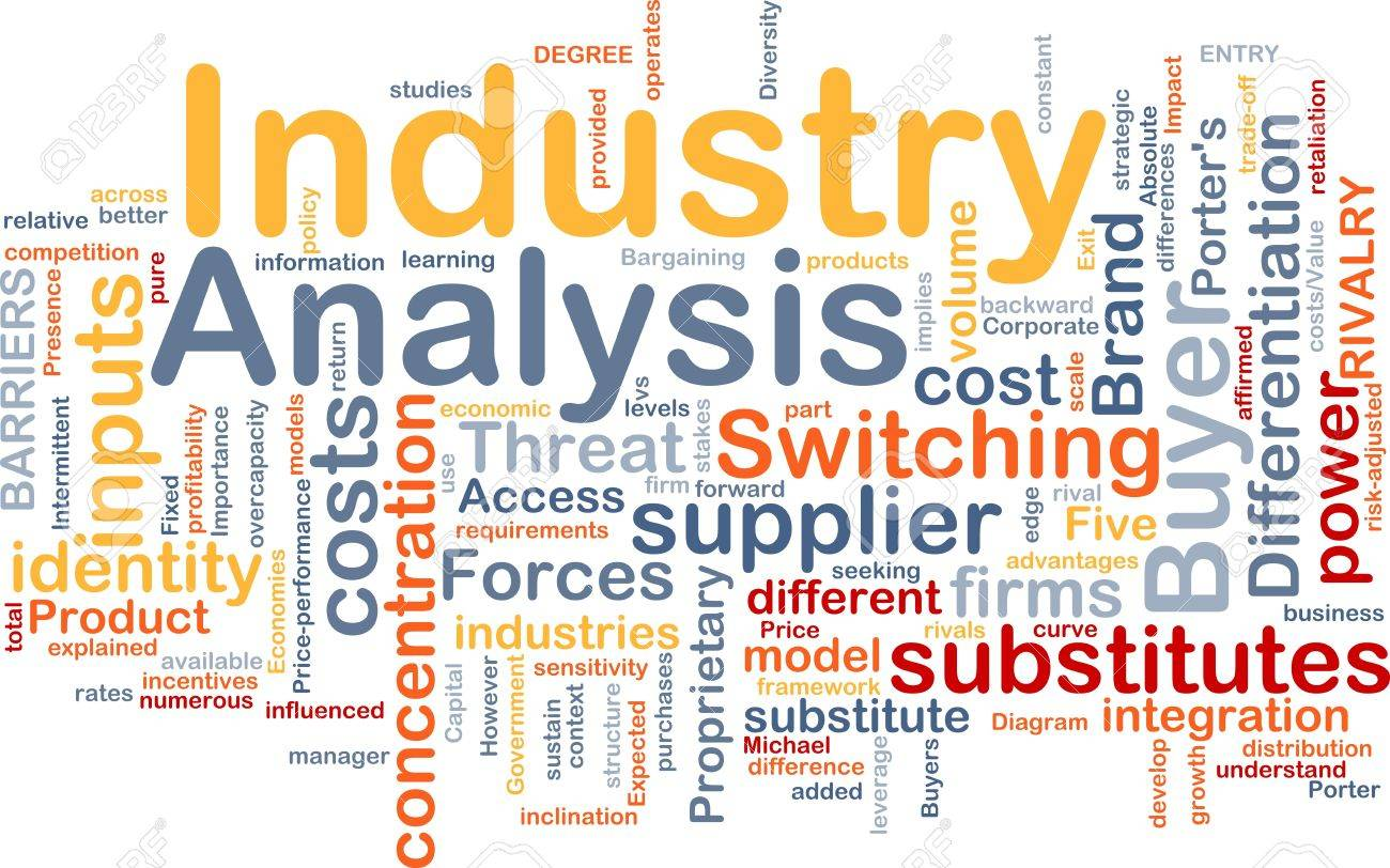 Background Concept Wordcloud Illustration Of Business Industry – Industry Analysis