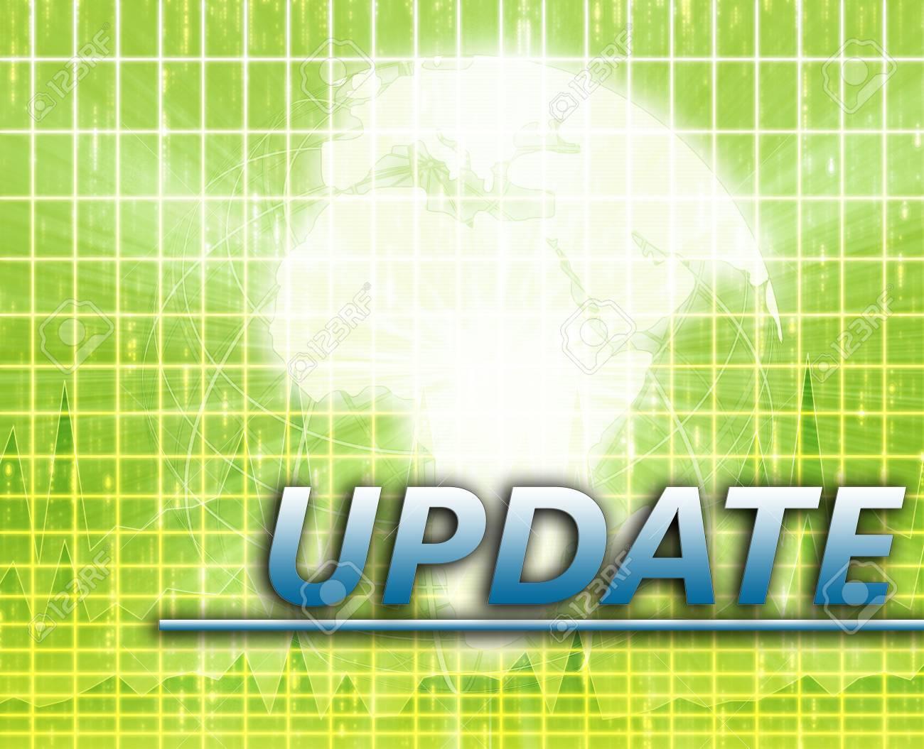 Africa Latest update news newsflash splash screen announcement illustration Stock Photo - 6314593