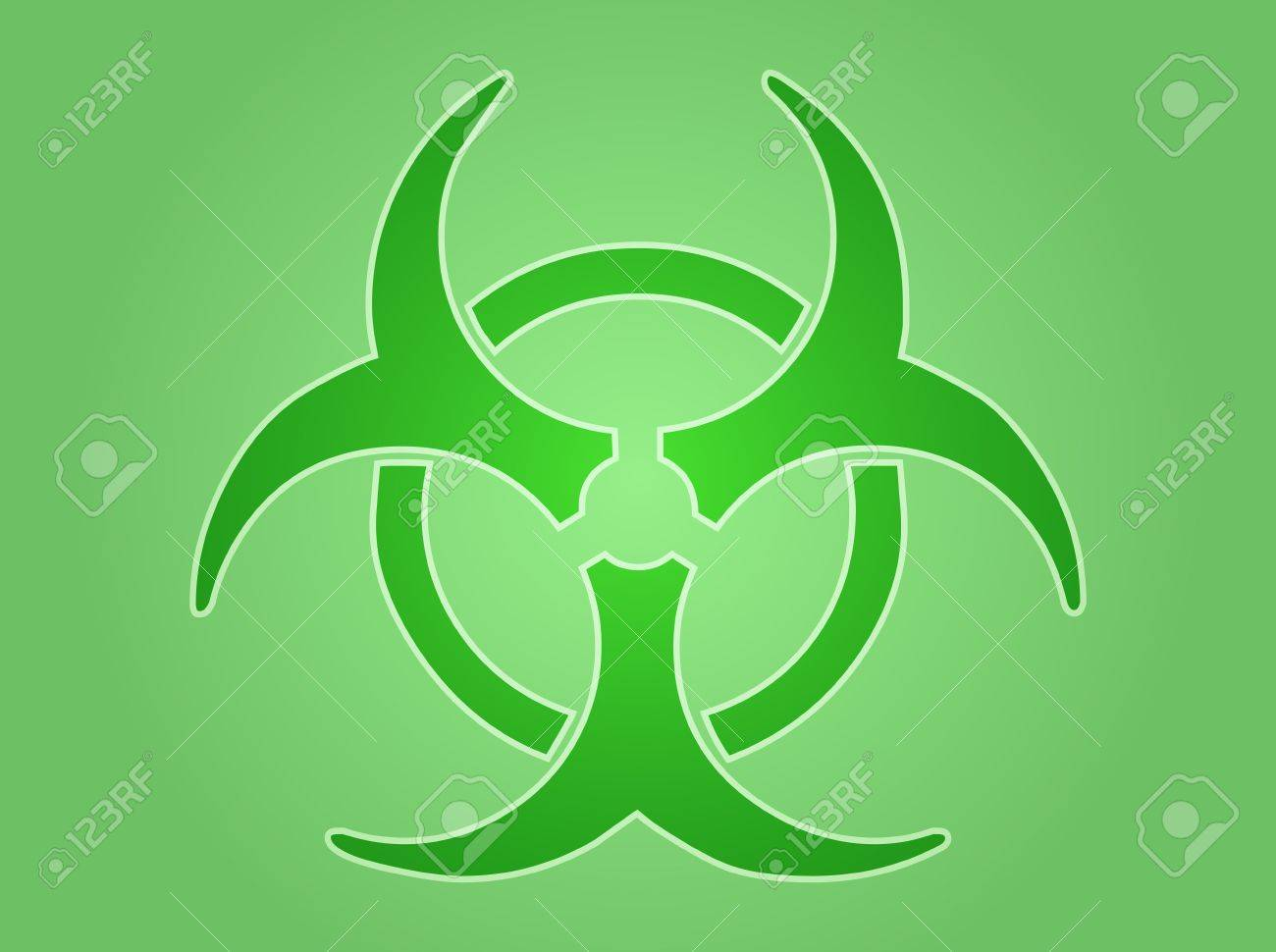 Biohazard sign, warning alert for hazardous bio materials Stock Photo - 6476647